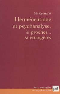 Herméneutique et psychanalyse