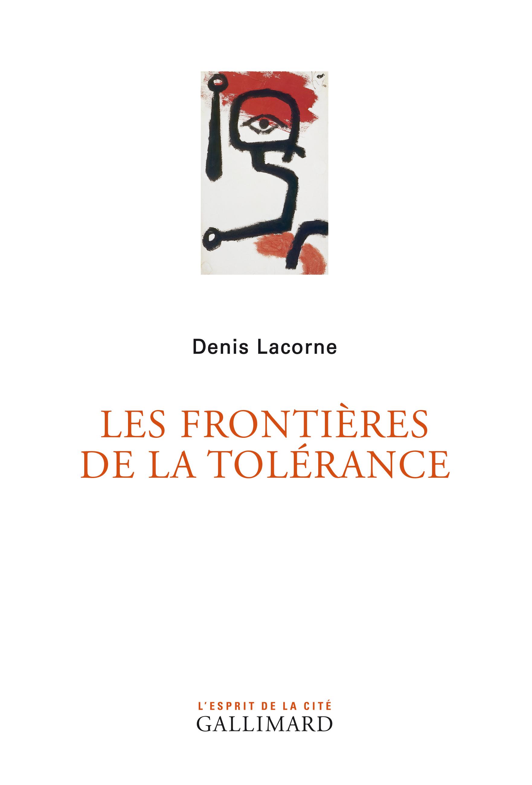 Les frontières de la tolérance