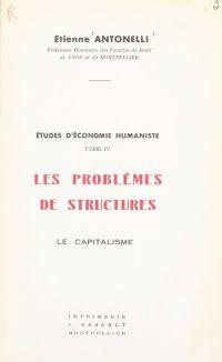 Études d'économie humaniste...