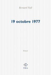 Image de couverture (19 octobre 1977)