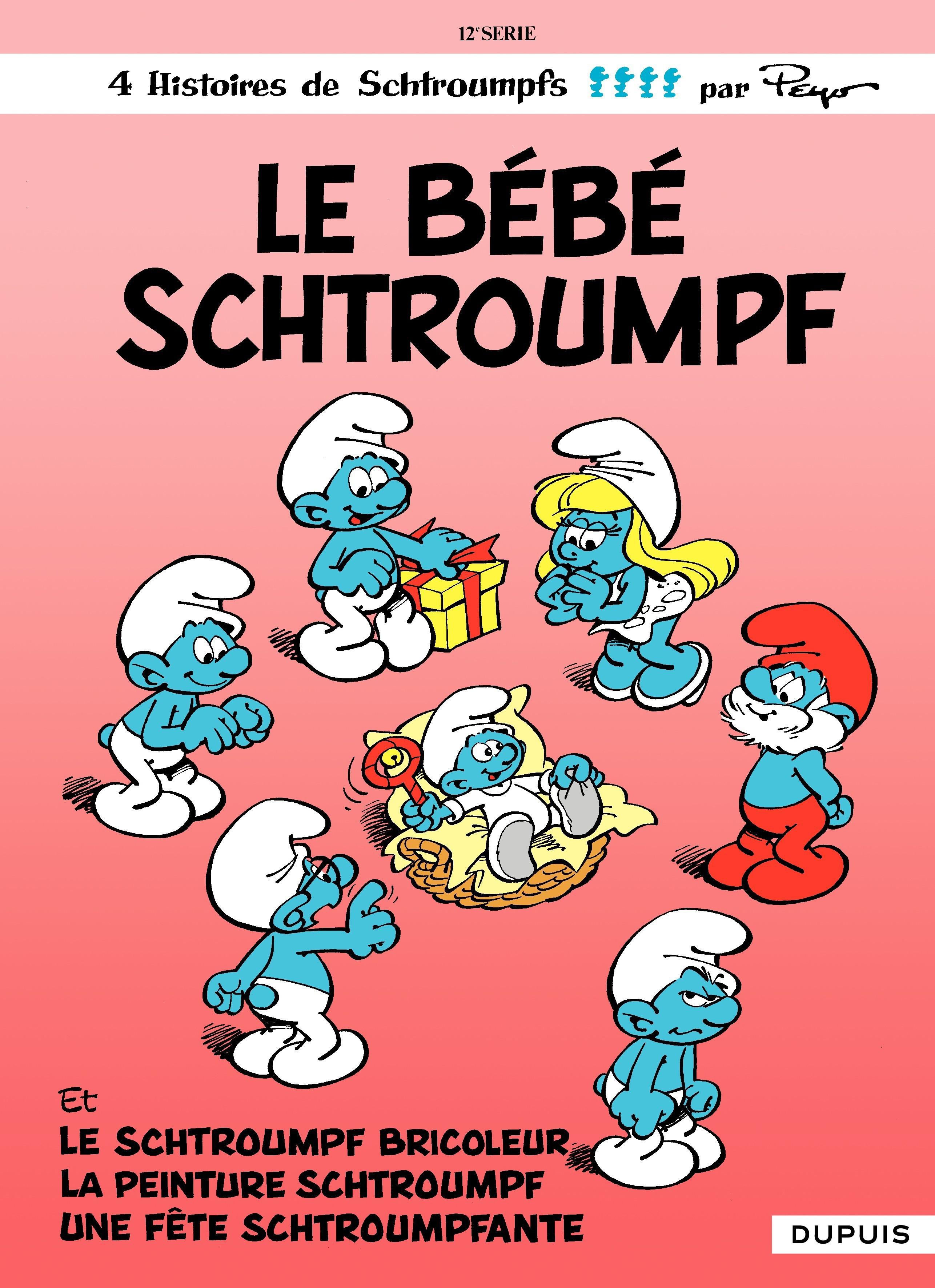 Les Schtroumpfs - tome 12 - Le Bébé Schtroumpf