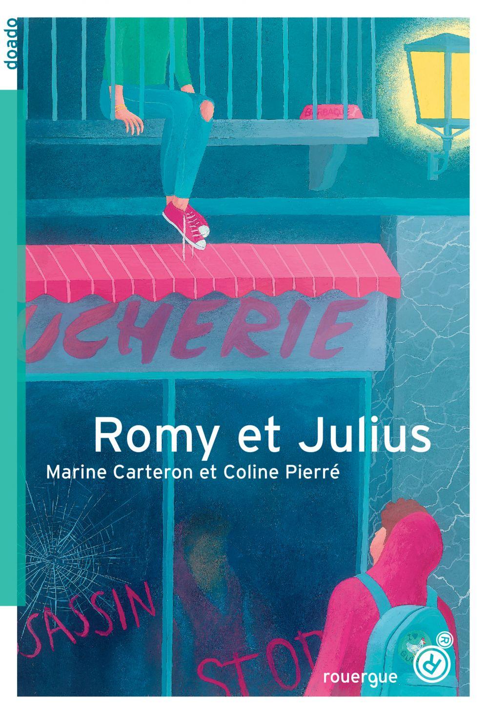 Romy et Julius | Carteron, Marine (1972-....). Auteur