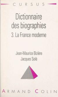Dictionnaire des biographie...
