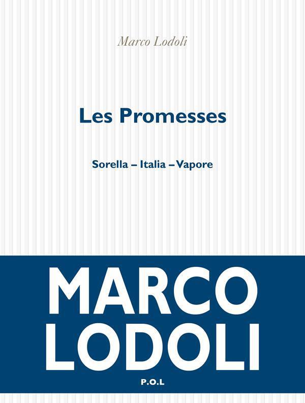 Les Promesses   Lodoli, Marco