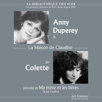 La Maison de Claudine | Colette, . Auteur