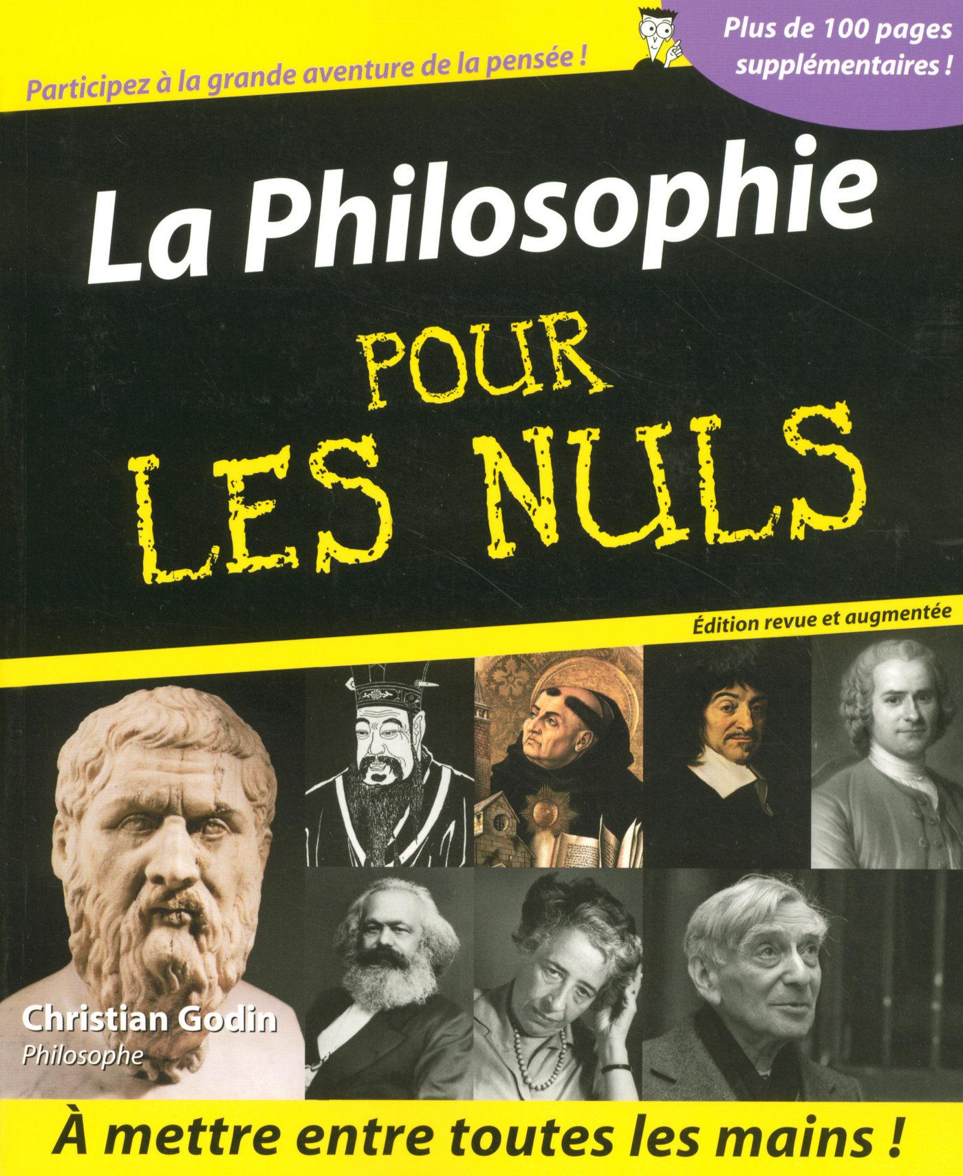 La Philosophie Pour les Nuls | GODIN, Christian