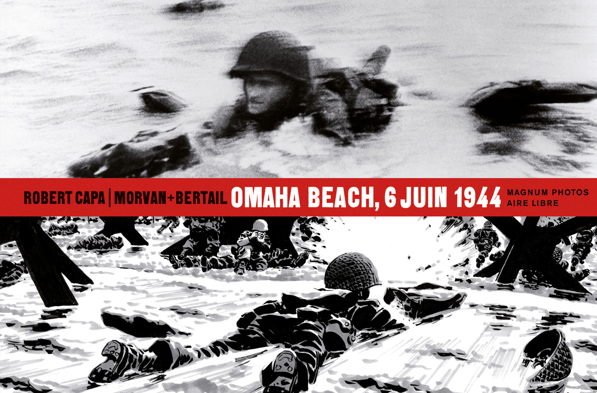 MAGNUM PHOTOS T1 OMAHA BEACH, 6 JUIN 1944