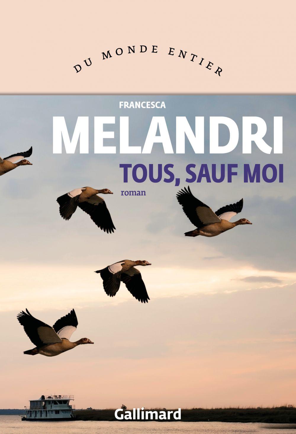 Tous, sauf moi | Melandri, Francesca. Auteur