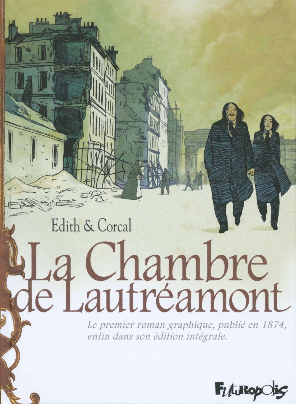 La Chambre de Lautréamont. D'après l'oeuvre d'Auguste Bretagne et Eugène de T. S. | Edith, . Auteur