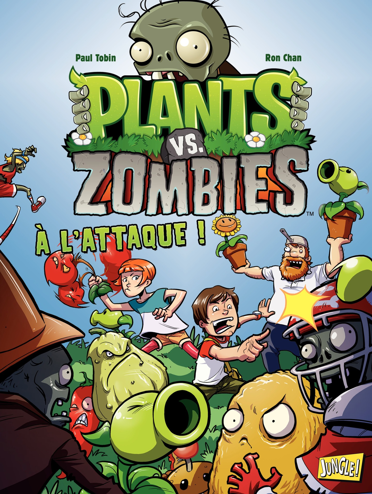 Plants vs zombies - Tome 1 - A l'attaque