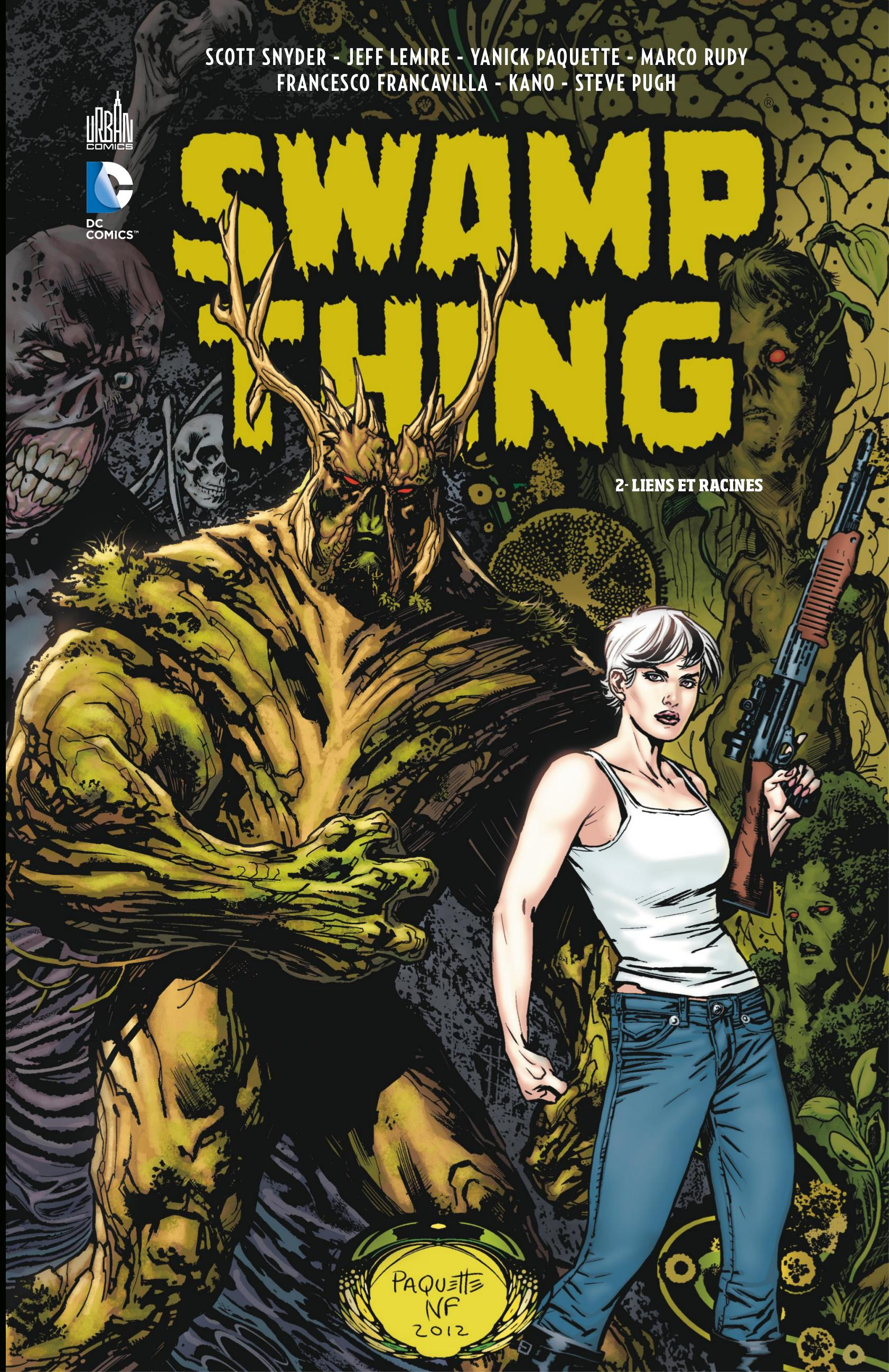 Swamp Thing - Tome 2 - Liens et racines