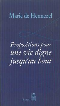 Propositions pour une vie d...