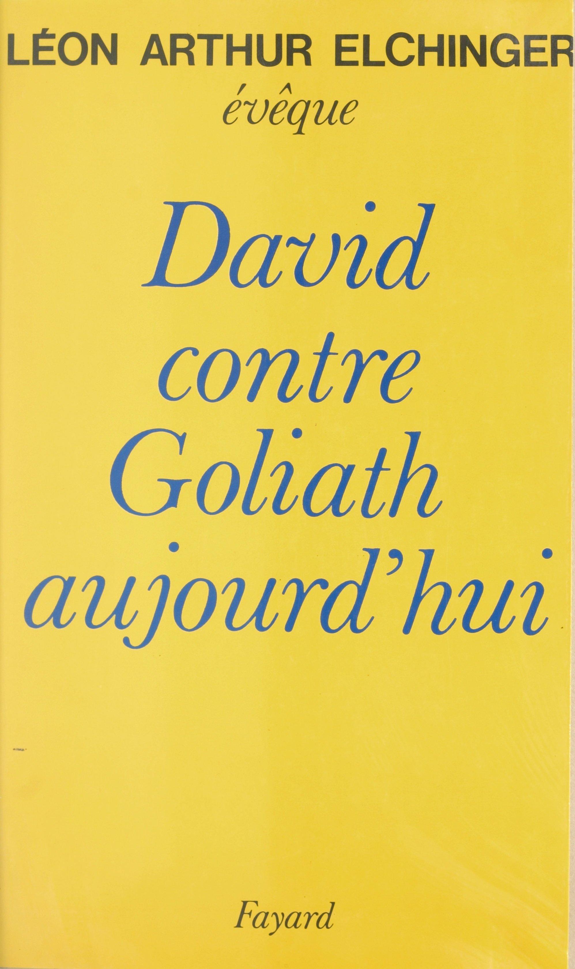 David contre Goliath aujour...