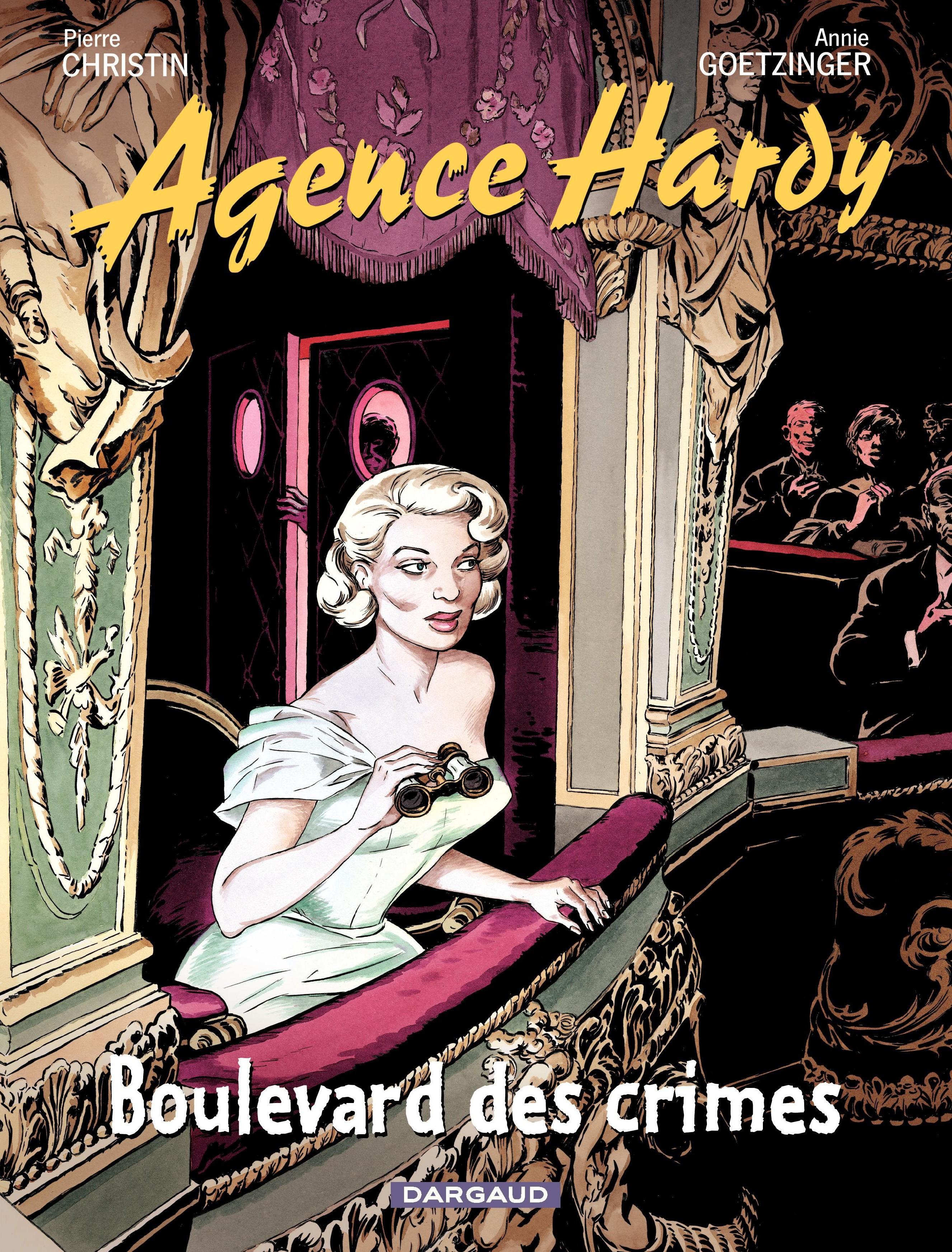Agence Hardy - tome 6 - Au théâtre...