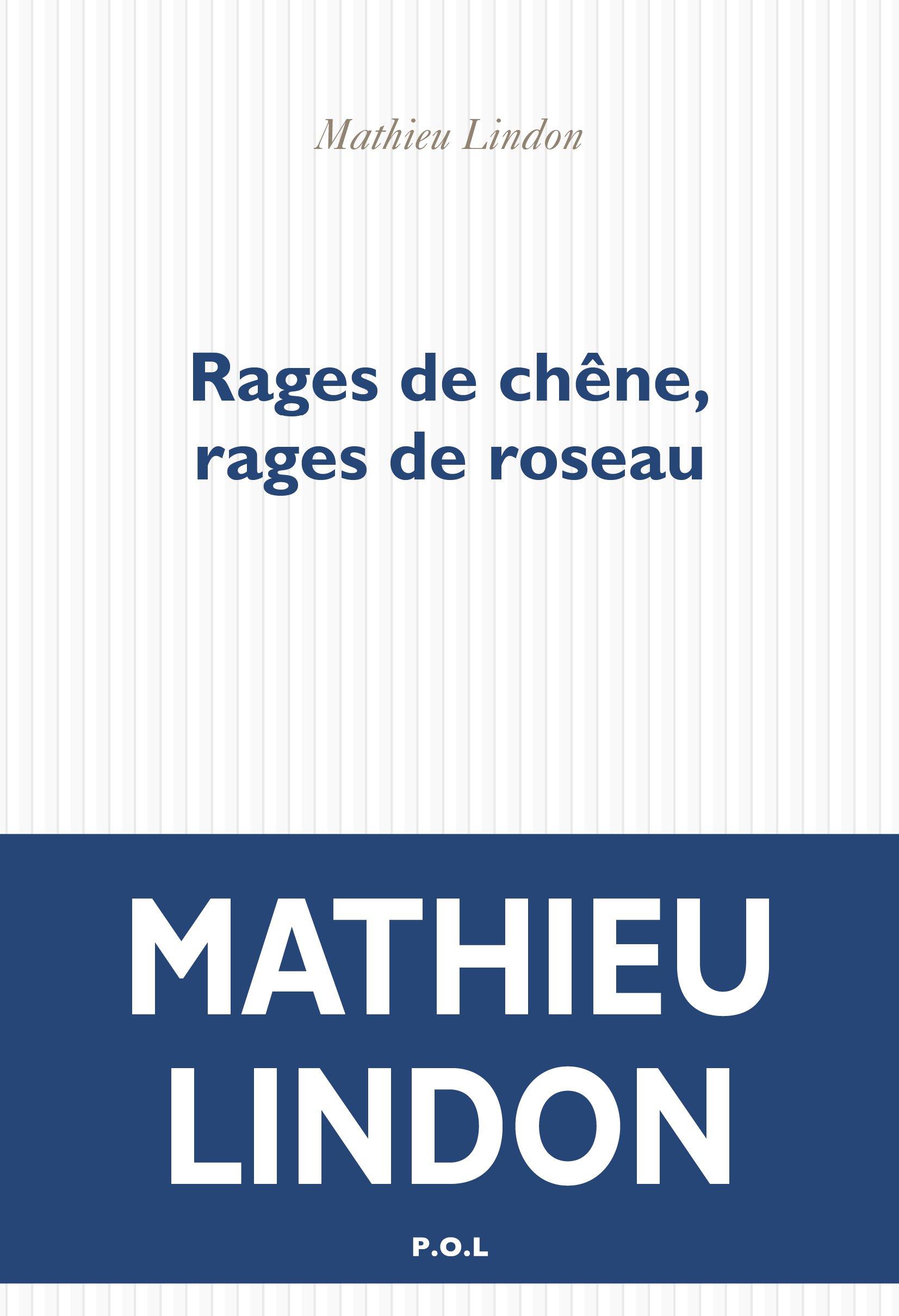 Rages de chêne, rages de roseau | Lindon, Mathieu