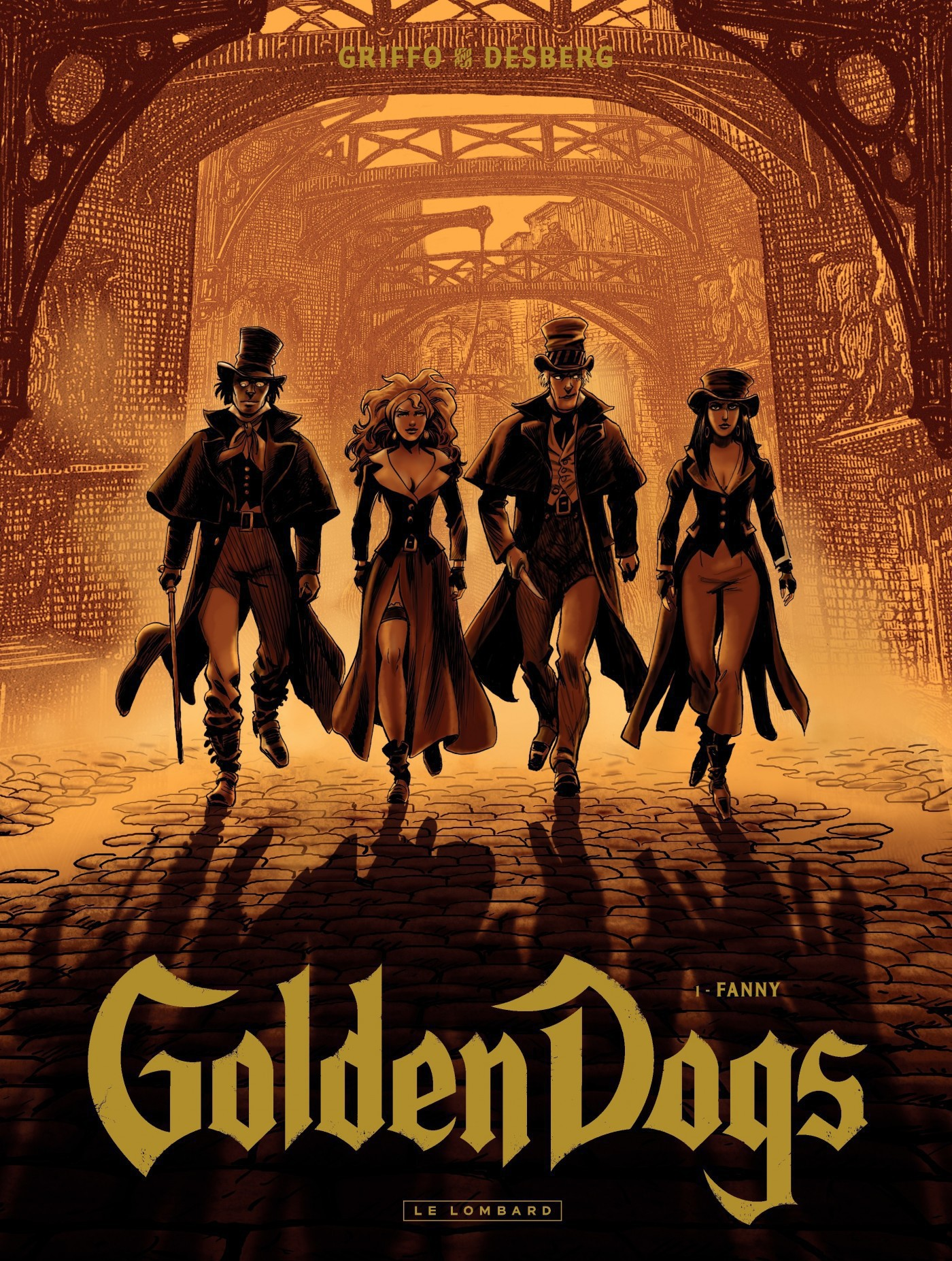 Golden Dogs - Tome 1 - Fanny |