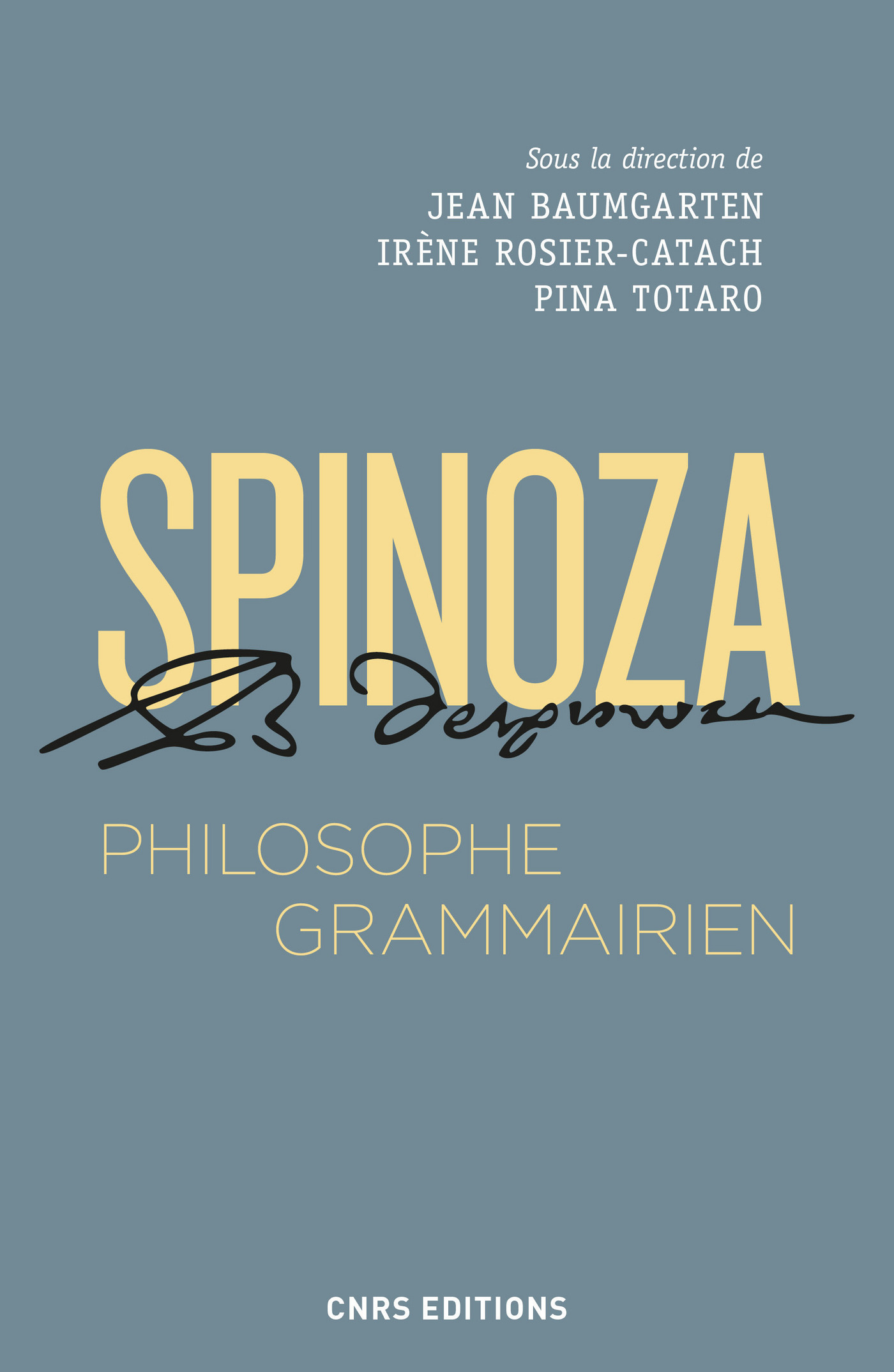 Spinoza, philosophe grammai...