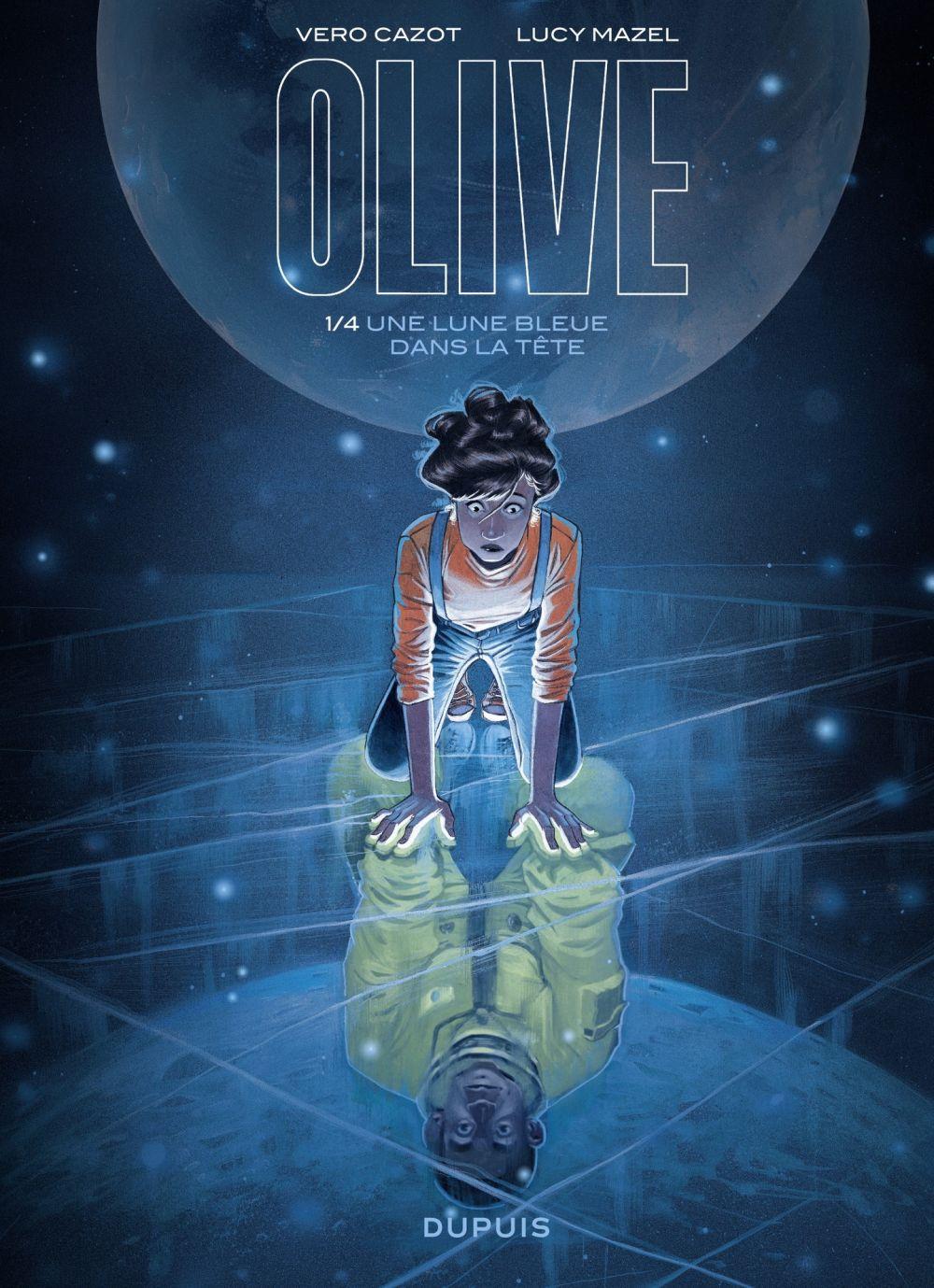 Olive - Une lune bleue dans la tête - Tome 1/4 | Lucy, Mazel. Illustrateur