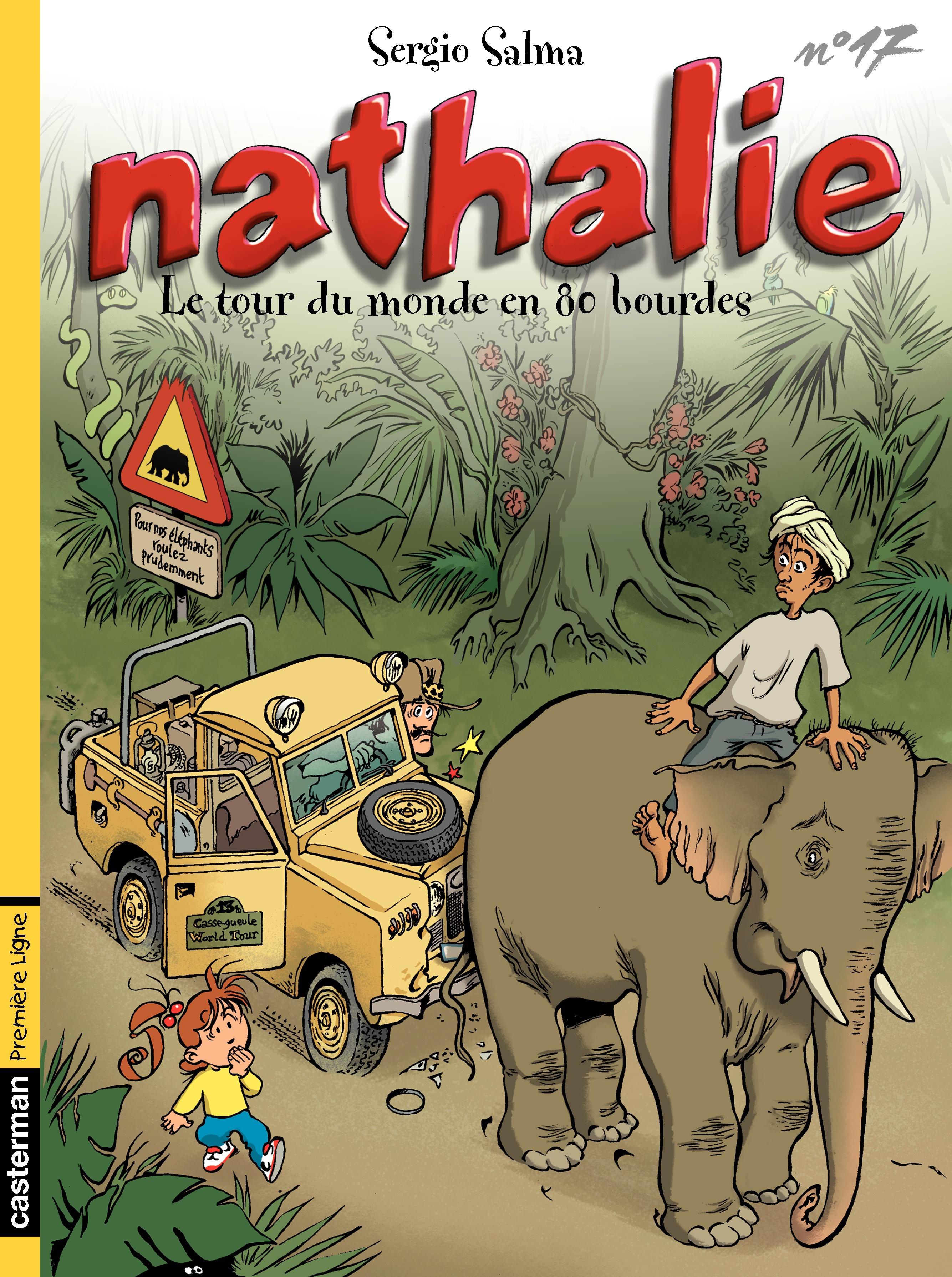 Nathalie (Tome 17) - Le Tour du monde en 80 bourdes