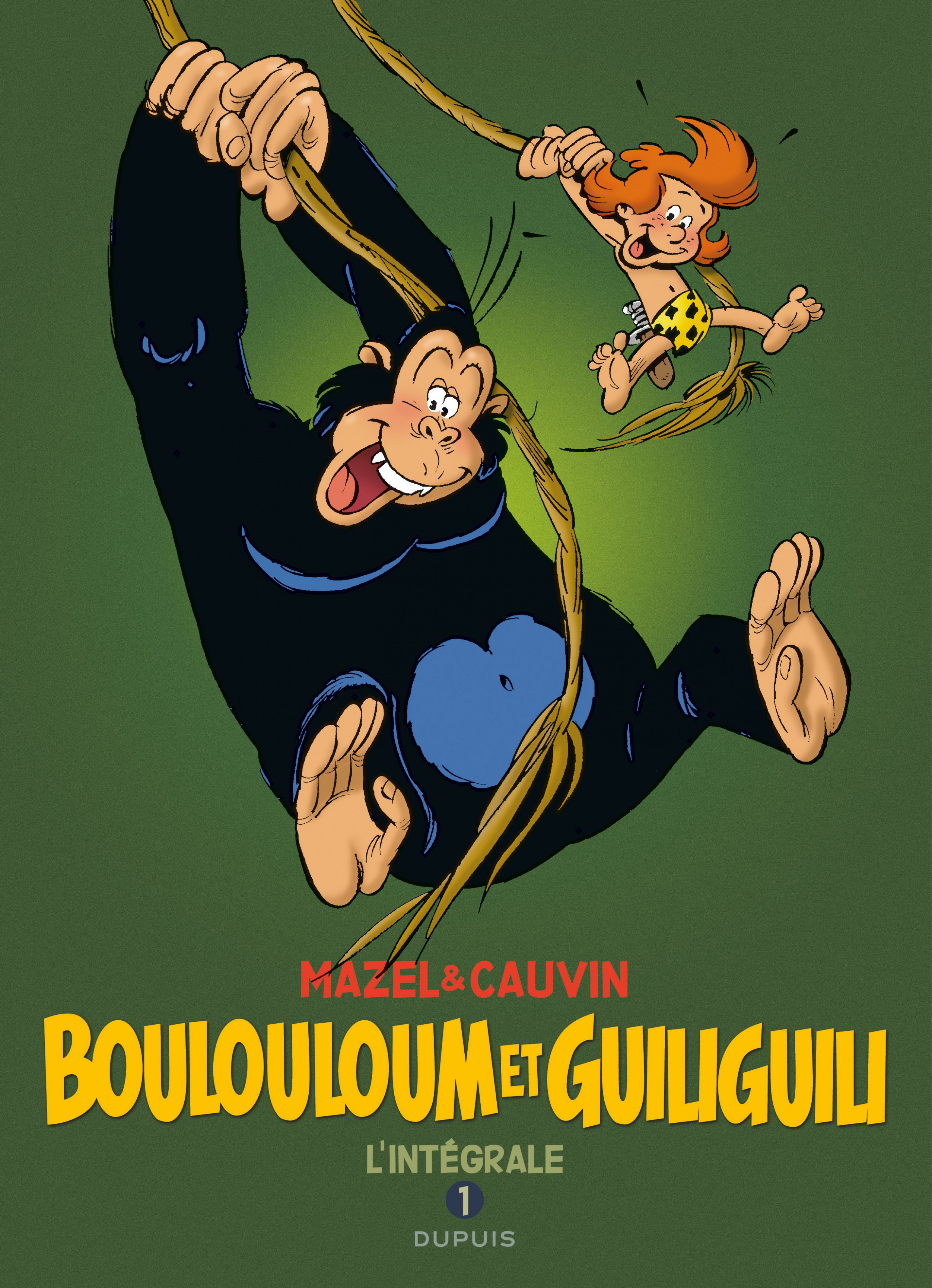 Boulouloum et Guiliguili, L'Intégrale - Tome 1 (1975 - 1981)