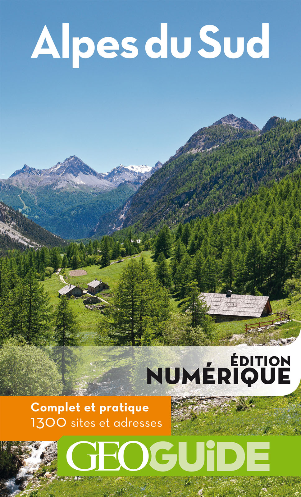 GEOguide Alpes du sud | Collectif Gallimard Loisirs,
