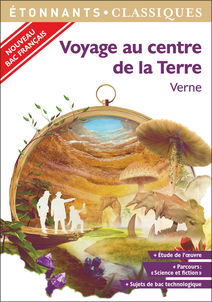 Voyage au centre de la Terre   Verne, Jules. Auteur