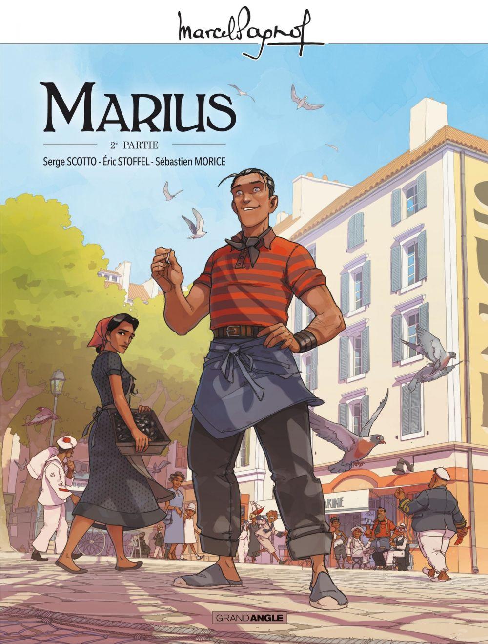 Marcel Pagnol en BD - Marius - Volume 2 | Scotto, Serge. Auteur