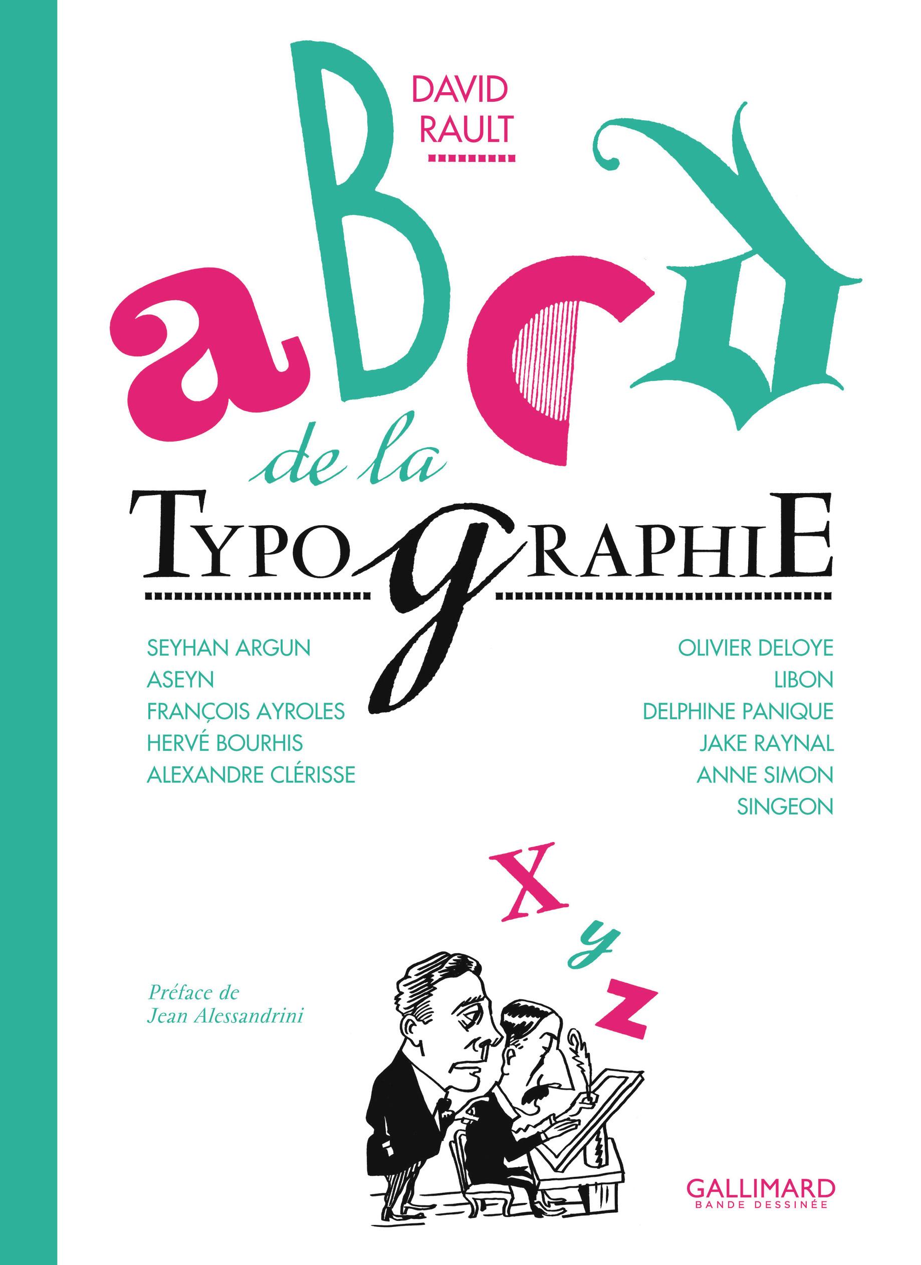 ABCD de la typographie en bande dessin?e