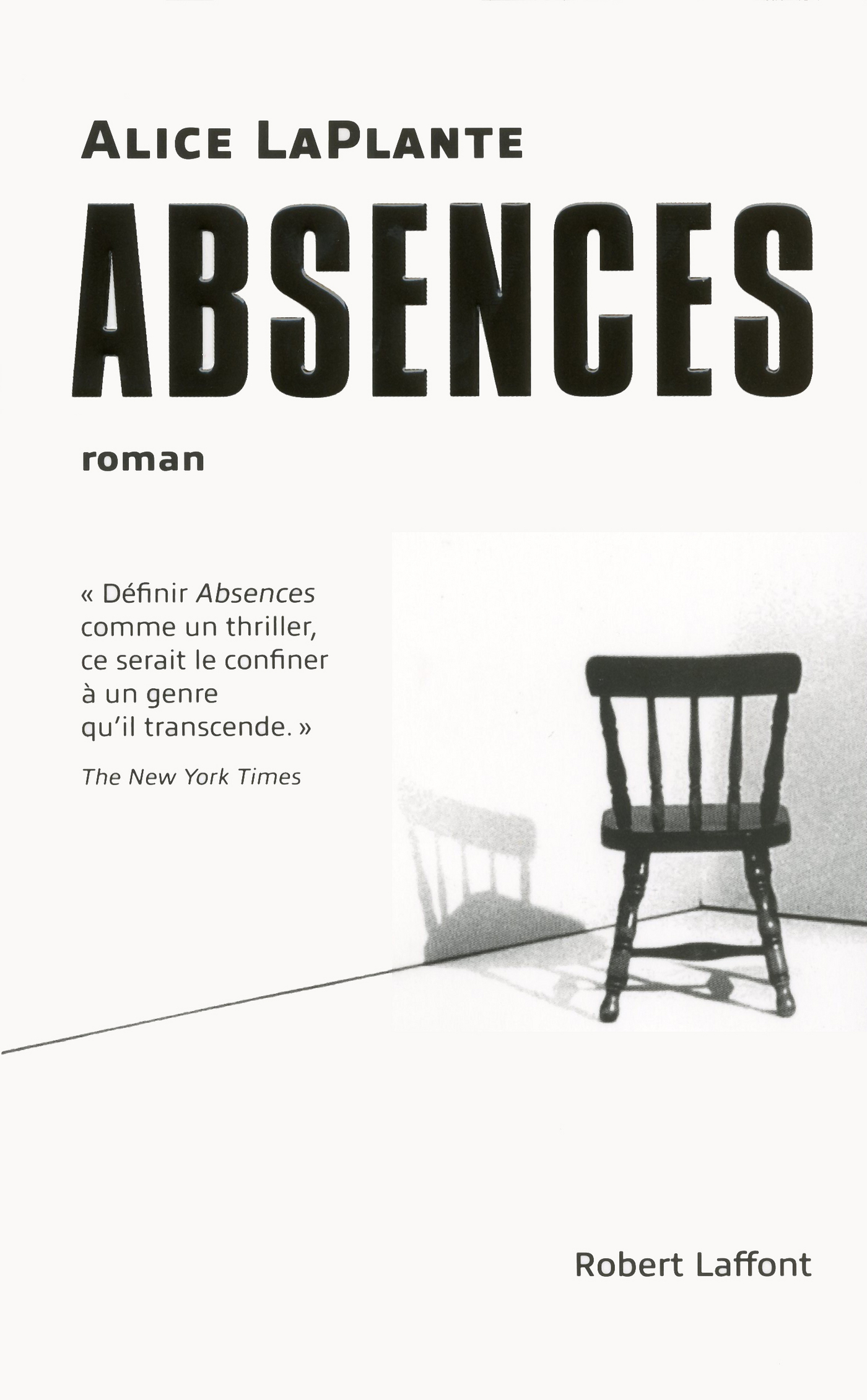 Absences | LAPLANTE, Alice