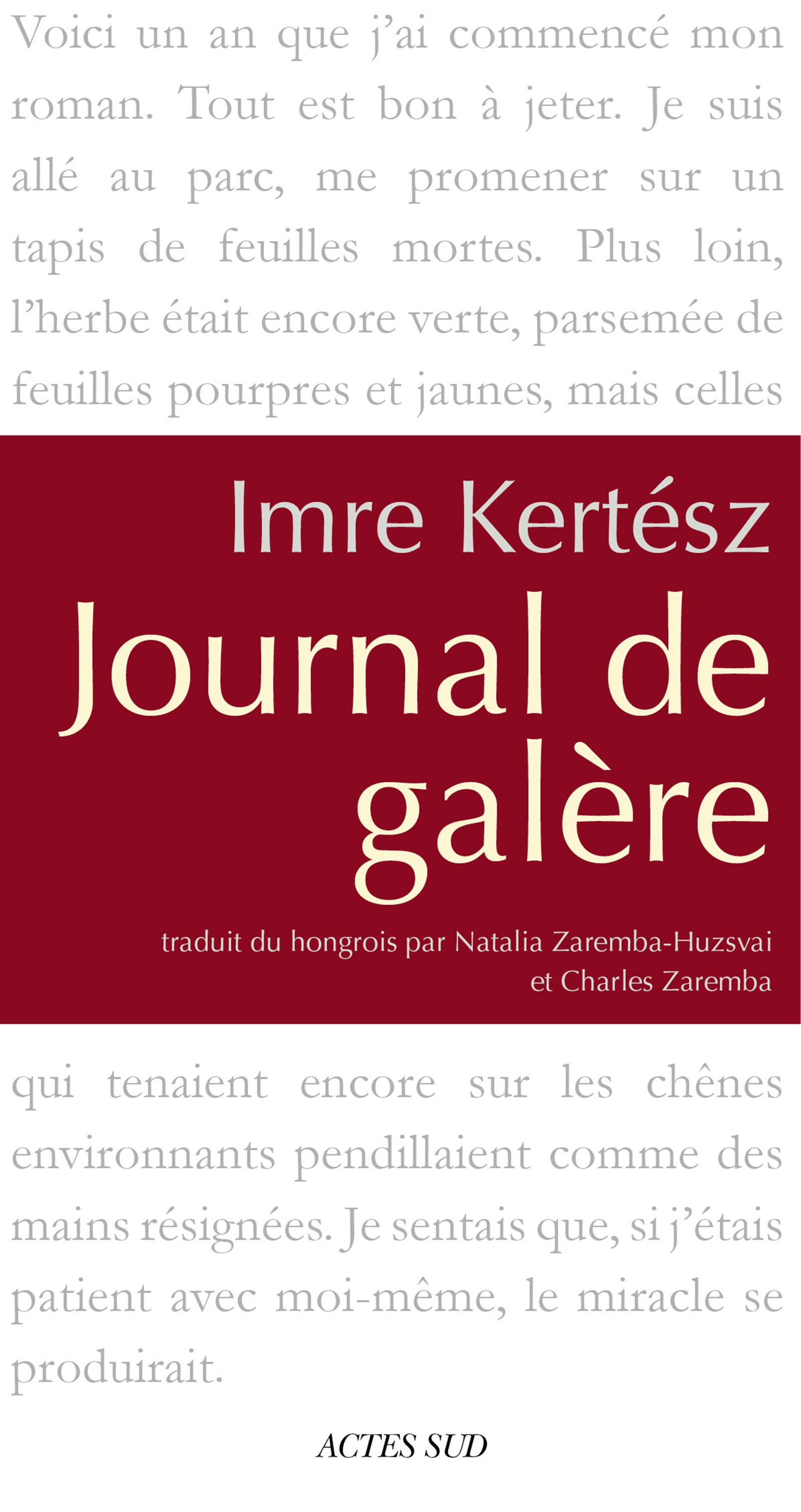 Journal de galère