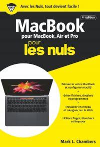 MacBook pour les Nuls, poche, 4e éd. | CHAMBERS, Mark L.. Auteur