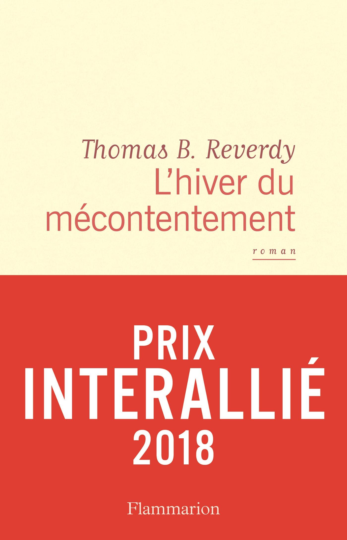 L'hiver du mécontentement | Reverdy, Thomas B.