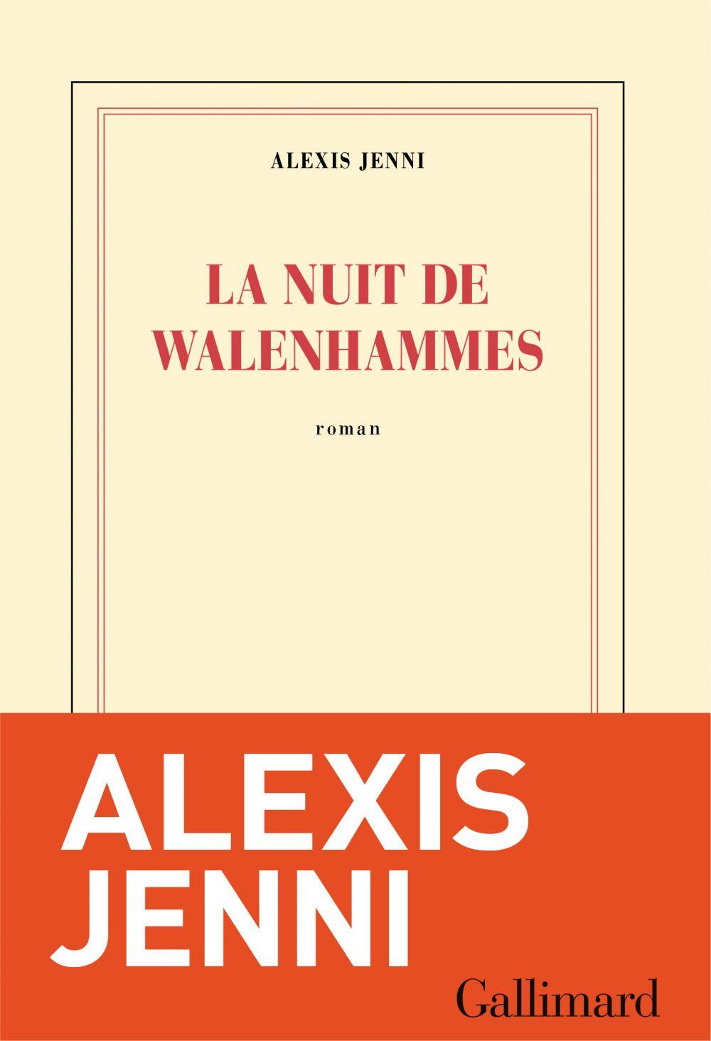 La nuit de Walenhammes | Jenni, Alexis (1963-....). Auteur