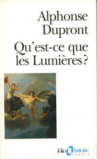 Image de couverture (Qu'est-ce que les Lumières ?)