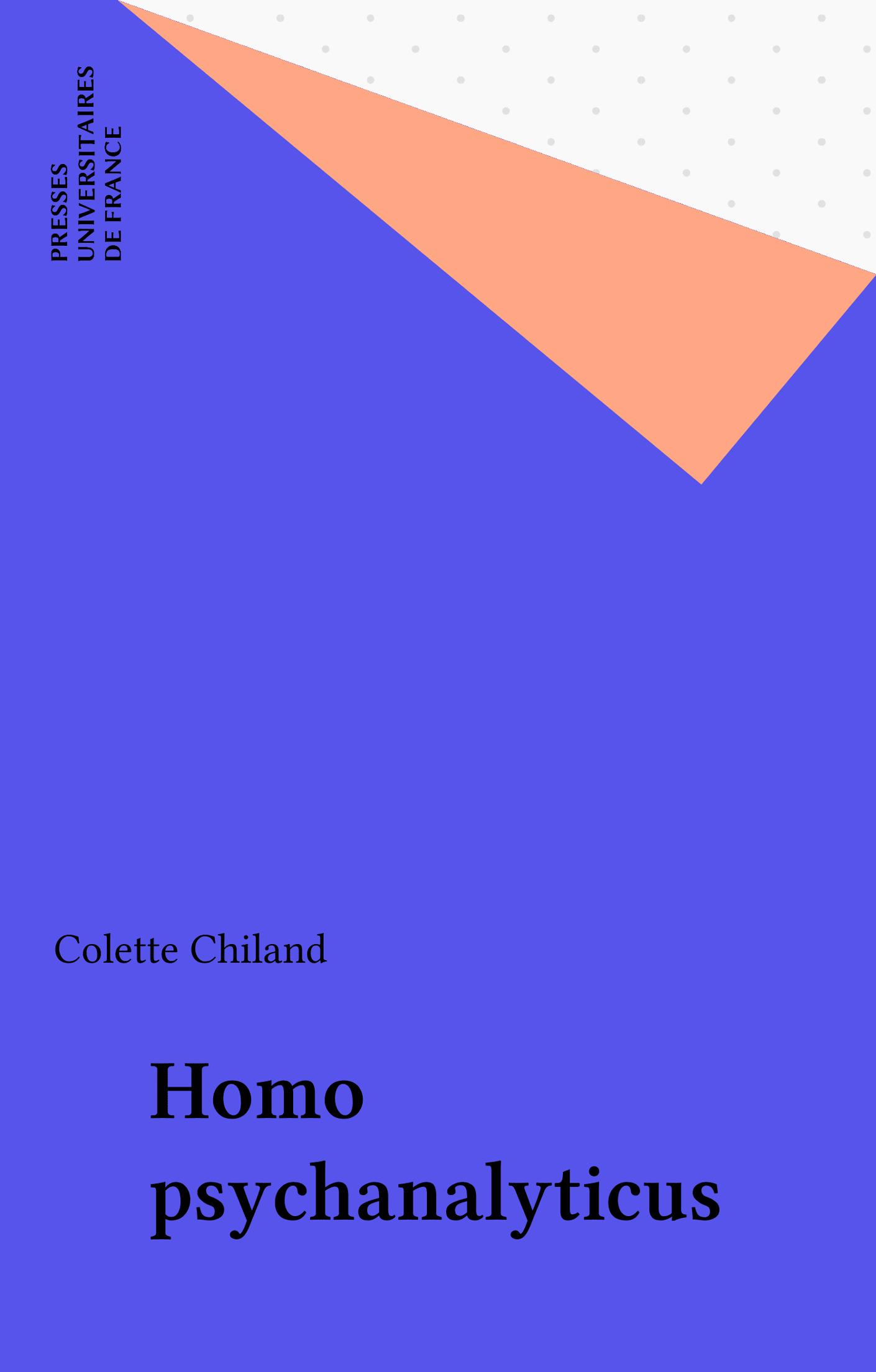 Homo psychanalyticus