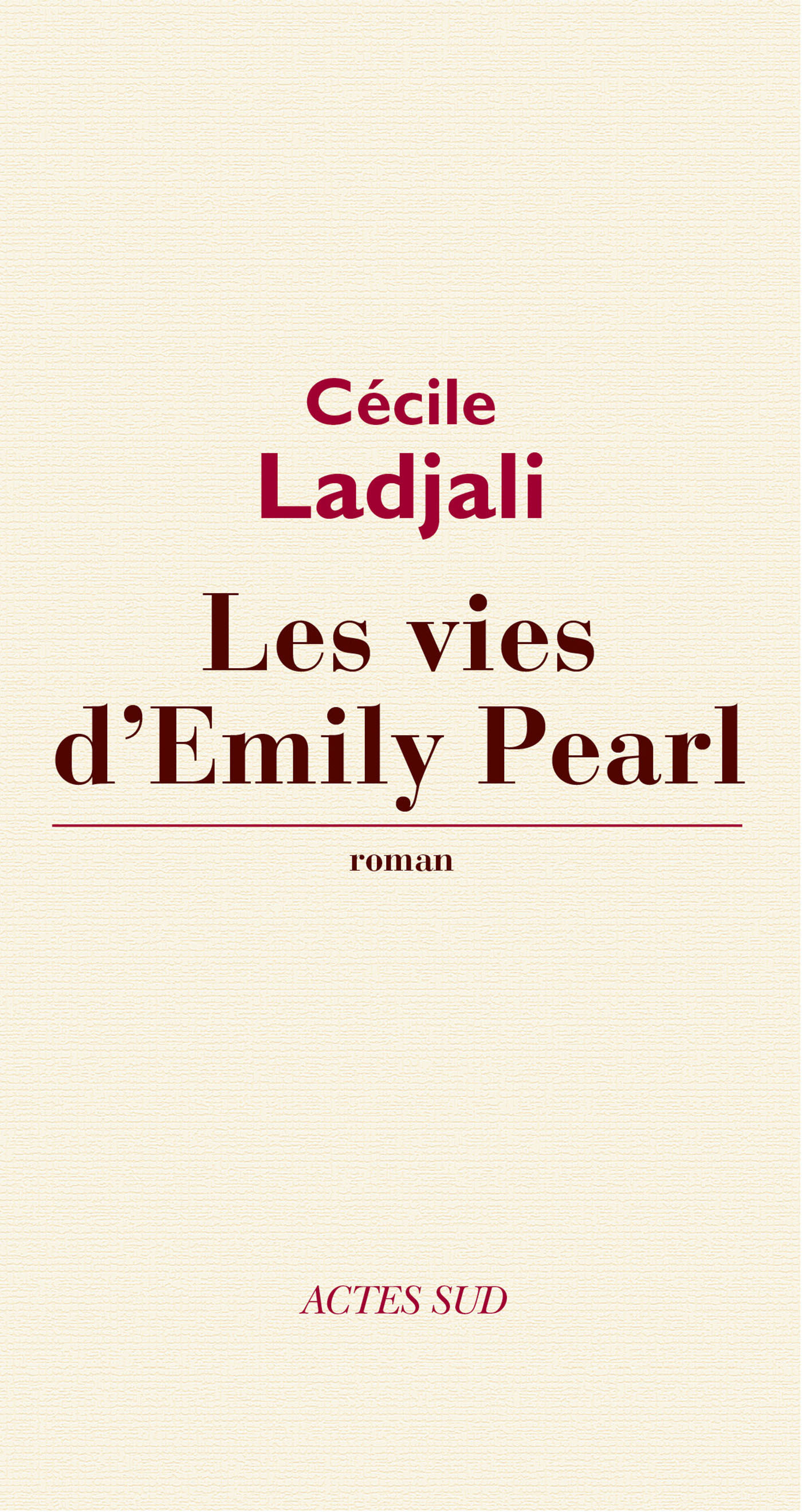 Les Vies d'Emily Pearl