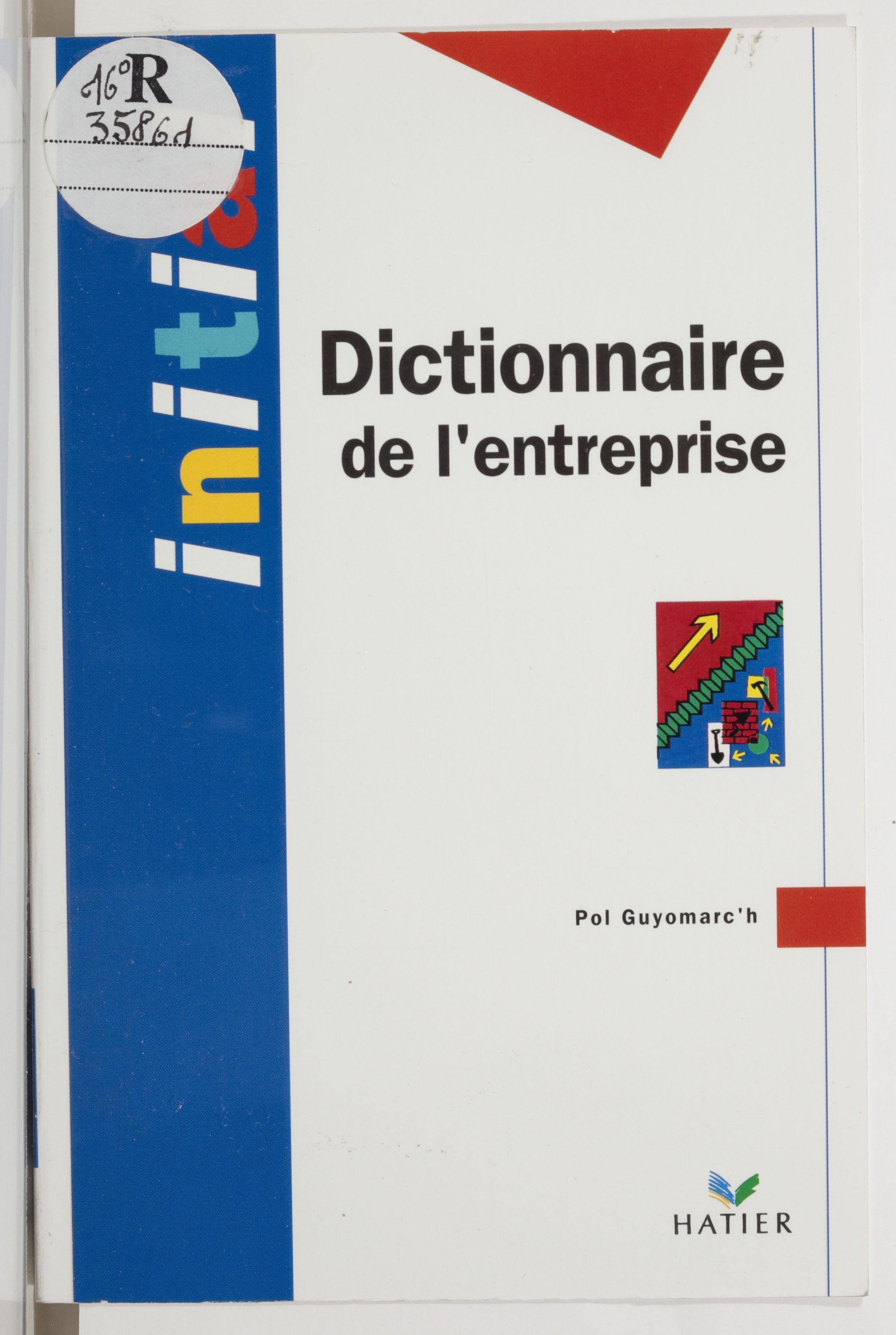 Dictionnaire de l'entreprise