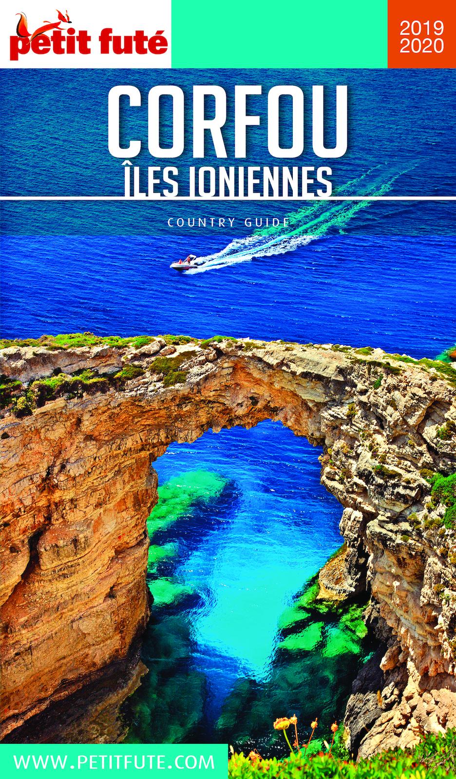 CORFOU - ILES IONIENNES 2019/2020 Petit Futé