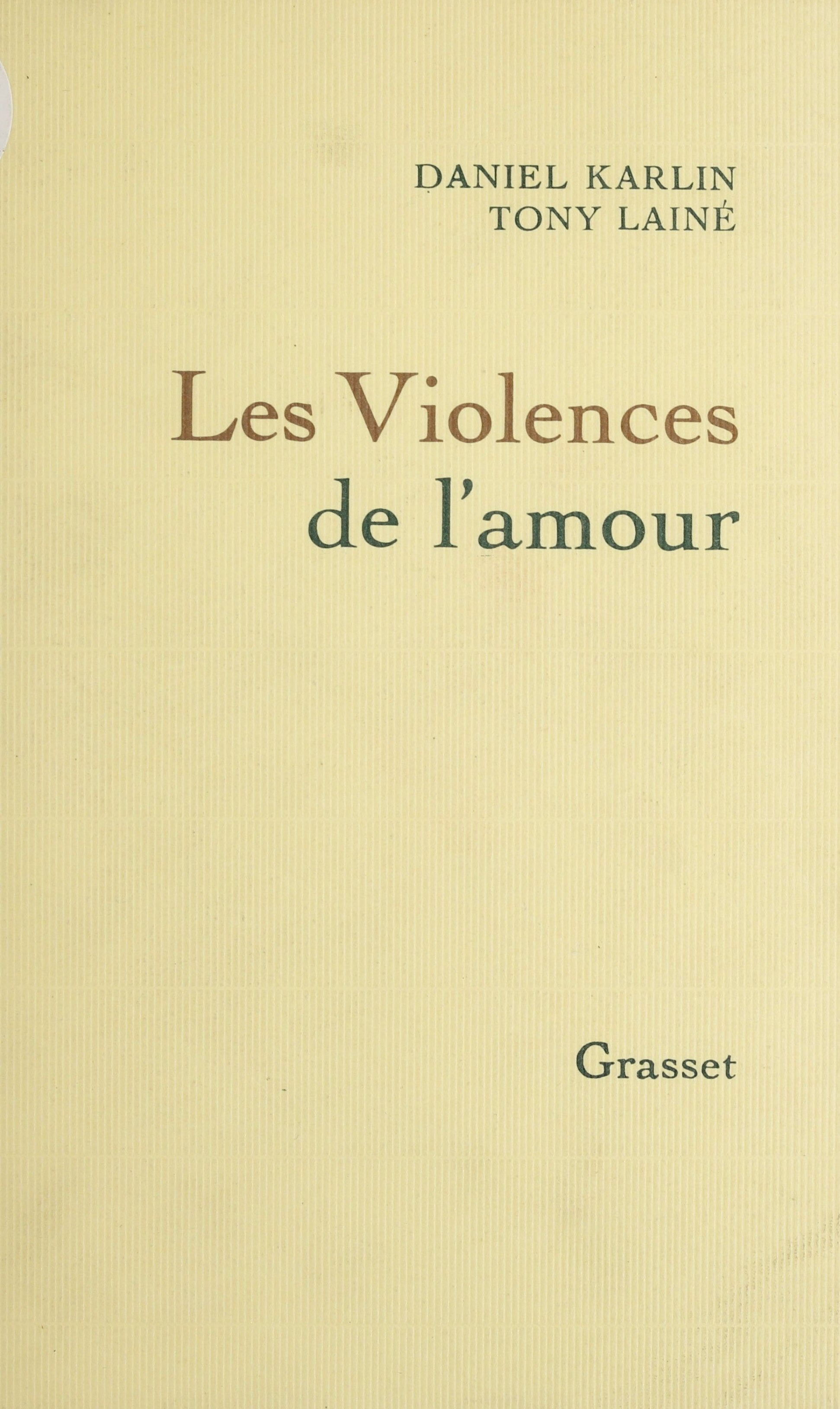 Les Violences de l'amour