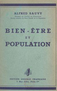 Bien-être et population