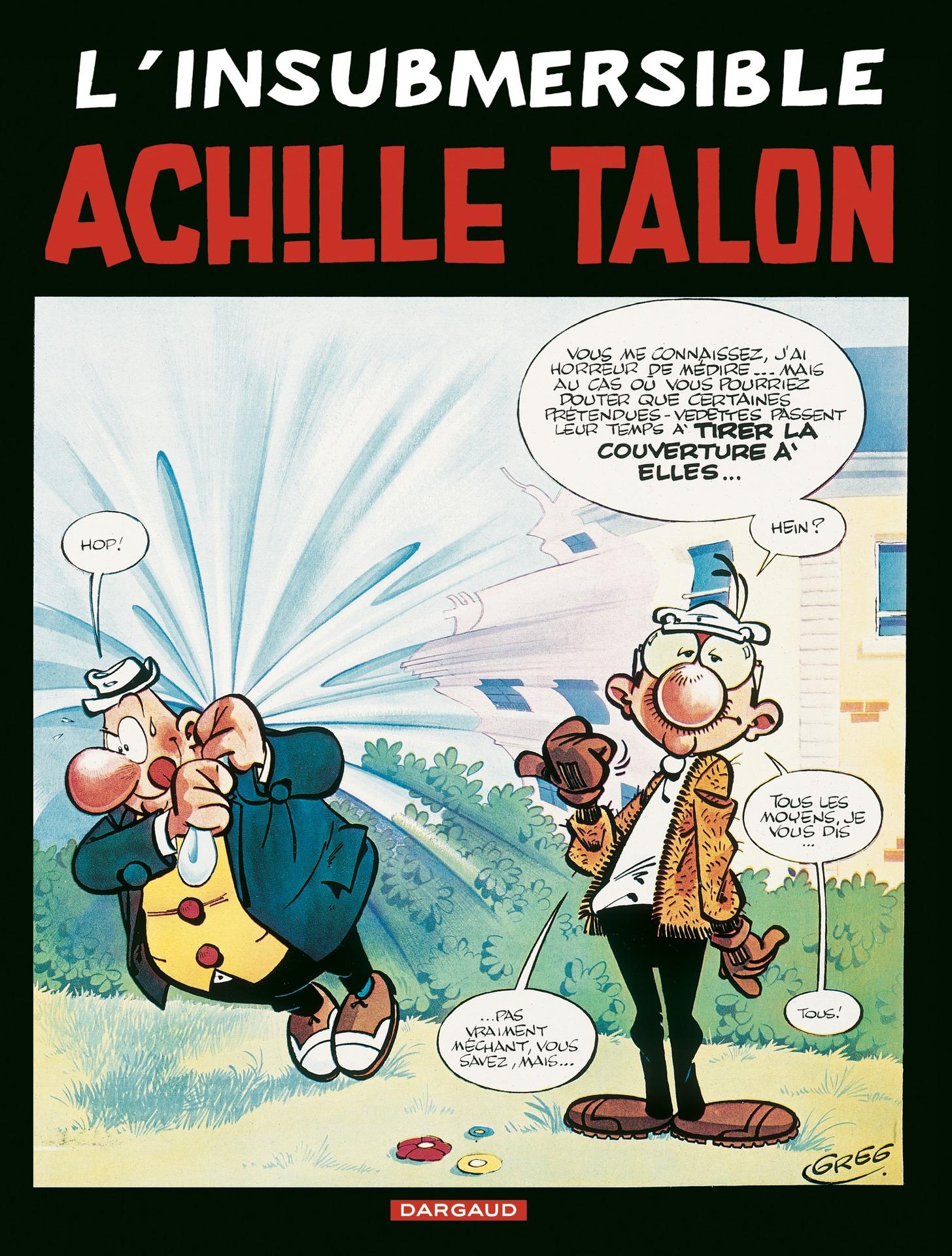 Achille Talon - Tome 28 - L'insubmersible Achille Talon