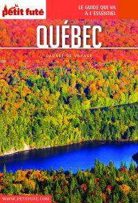 Cover image (QUÉBEC 2020 Carnet Petit Futé)