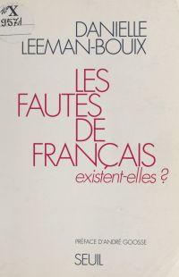 Les fautes de français exis...