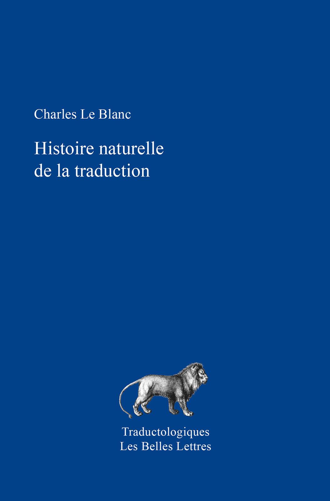 Histoire naturelle de la tr...