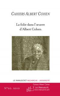 Cahiers Albert Cohen N°20