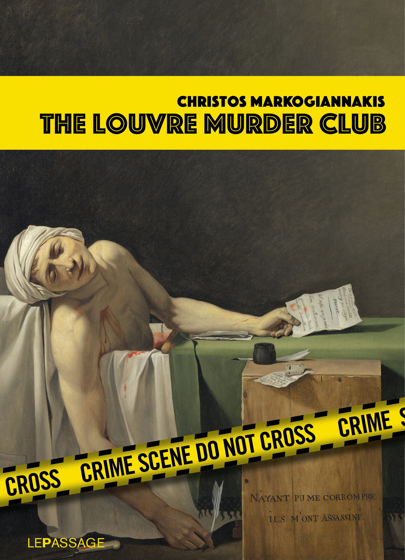 The Louvre Murder Club (Scè...