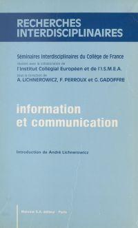 Information et communicatio...