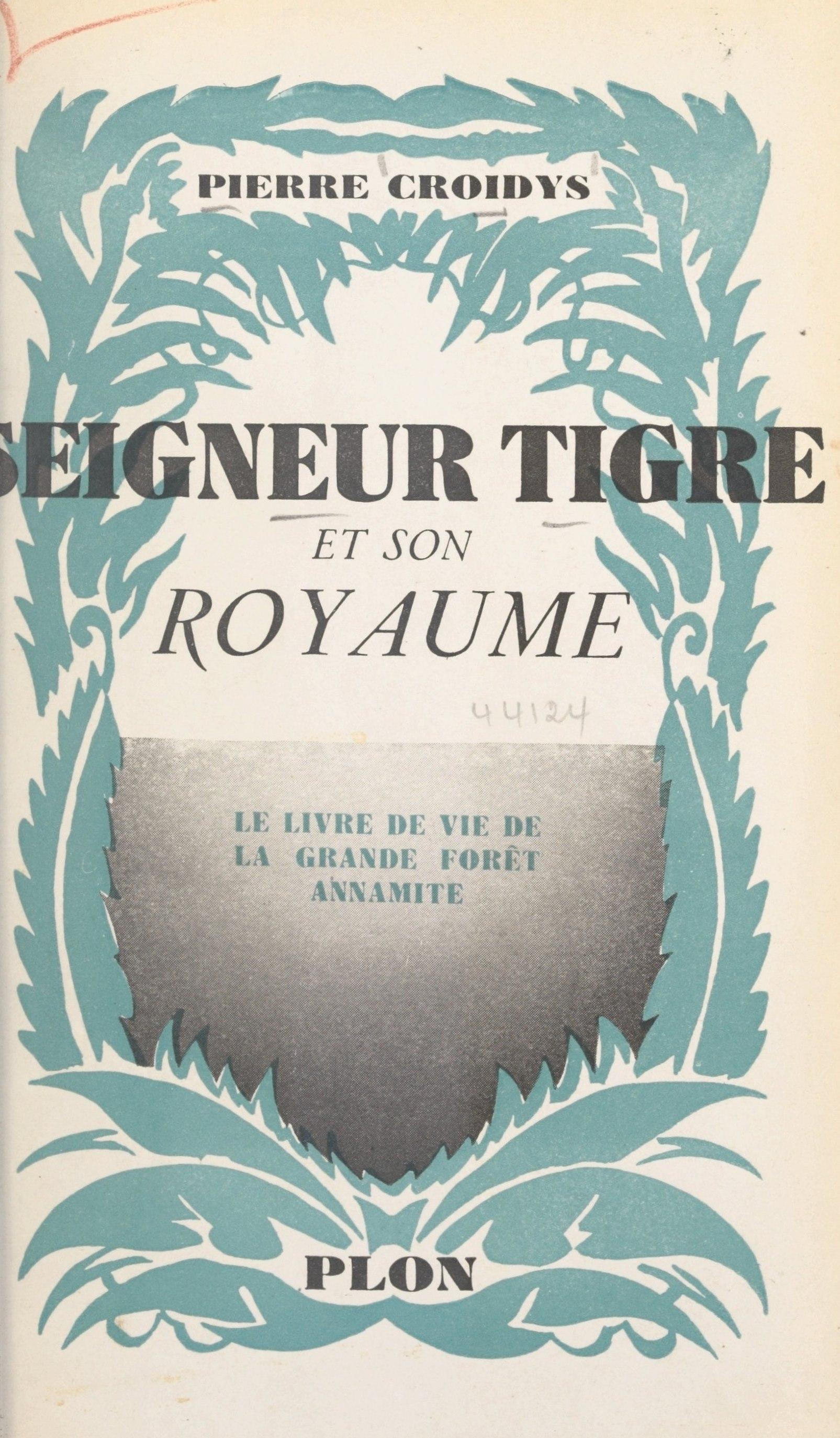 Seigneur tigre et son royaume