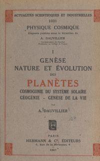 Genèse, nature et évolution...