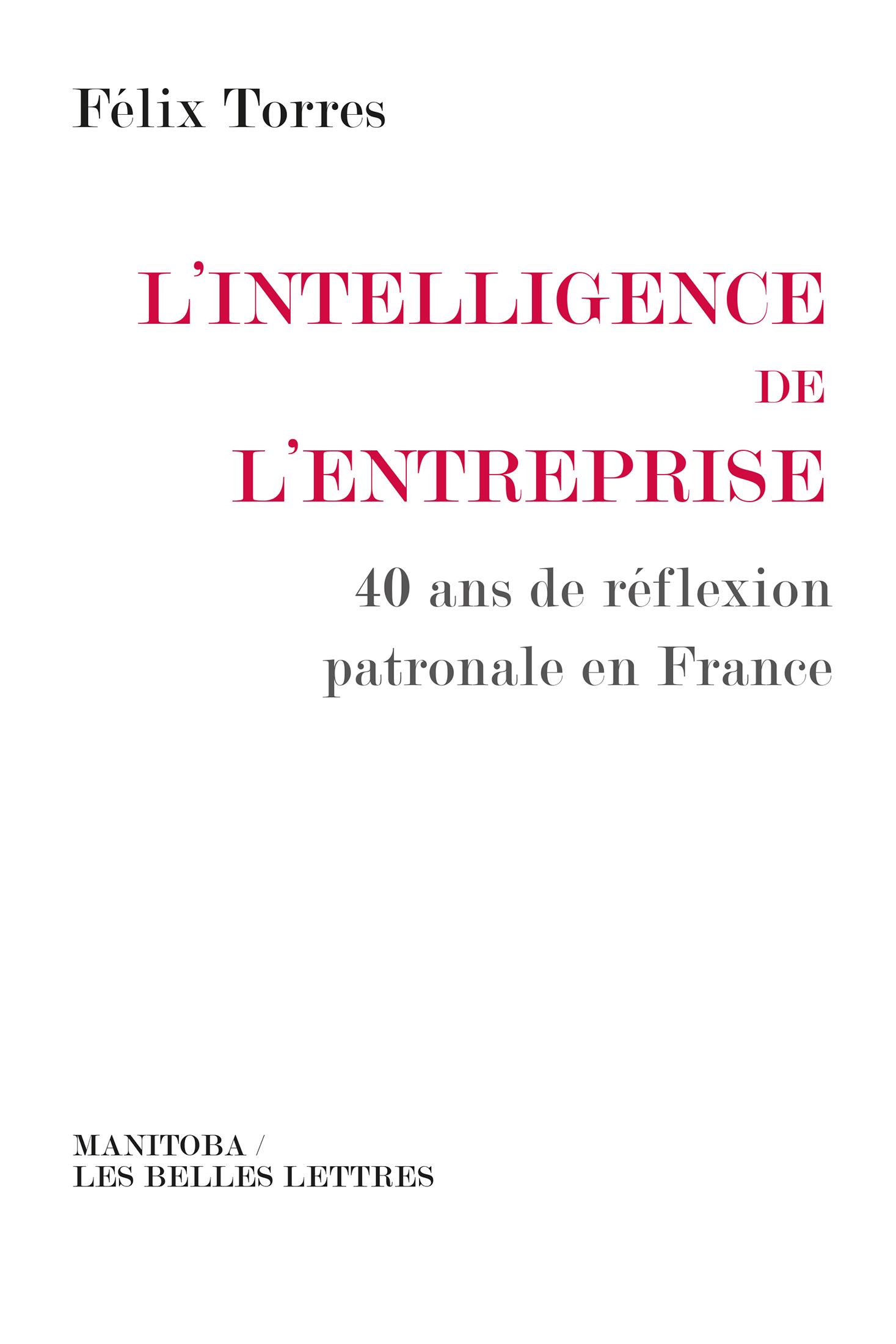 L'Intelligence de l'entreprise